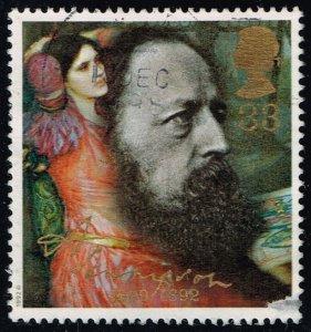 Great Britain #1443 Lady of Shalott - Tennyson; Used (0.90)