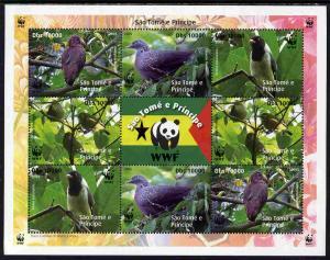 St Thomas & Prince Islands 2005 WWF - Local Bird Spec...