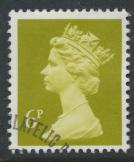 Great Britain SG X936 Sc# MH59    Used with first day cancel - Machin 6p