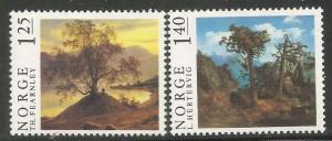 NORWAY, 683-684, MH, BIRCHES