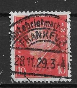 Germany 371 10f Presidents single Used (z5)