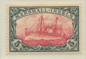 Marshall Islands Stamp Scott #25, Mint Lightly Hinged, Good Centering - Free ...