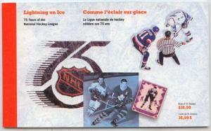 Canada - 1992 National Hockey League Booklets #BK148 X 4