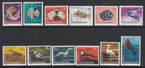 Cocos Islands, Sc 8-19 (SG 8-19), MNH