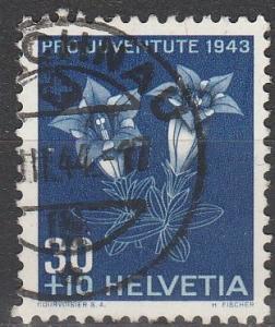 Switzerland #B129  F-VF Used CV $8.50 (S2417)