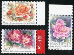Belgium Scott 2077-79 MVFNHOG - 2005 Ghent Flower Show - SCV $5.65