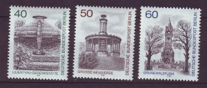 J24356 JLstamps 1980 germany berlin set mnh #9n457-9 designs