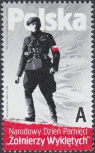 Poland 2016 MNH Stamp Day of Cursed Soldiers World War II Anticommunism