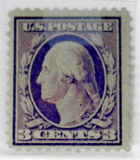 359 MNT Bluish Paper F-VF OG LH Very tiny thin RARE Cat$1800