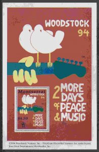 Montserrat #854 s/sheet F-VF Mint NH ** Woodstock 94