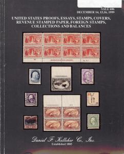 United States Proofs, Essays, Stamps, Covers, Revenue Sta...