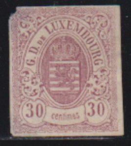 Luxembourg 1959-1864 SC 10 MLH