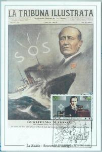 68714 - VATICANO  - Postal History - MAXIMUM CARD 1995 - COMMUNICATIONS  Marconi