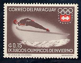 Paraguay Scott # 783, mint