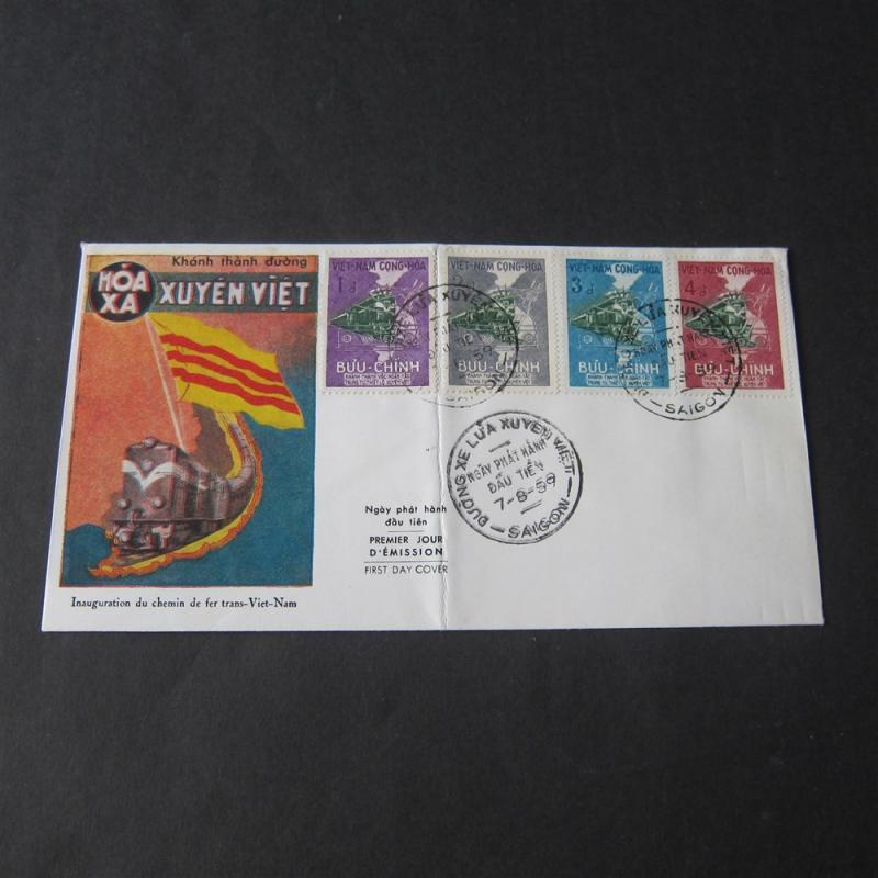 Vietnam 1959 FDC cover #aaqa68