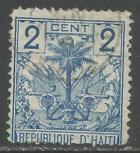 HAITI 27 VFU ARMS Y093-4