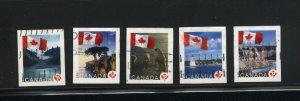 Canada #2189-93   -3  used VF 2006 PD