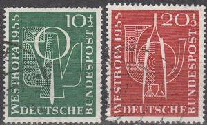 Germany #B342-3  F-VF Used  CV $18.25 (D72)