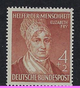 Germany Bund Scott # B327, mint nh