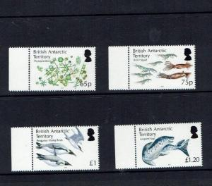 British Antarctic Territory: 2014, Antarctic Marine Food Web,  MNH set