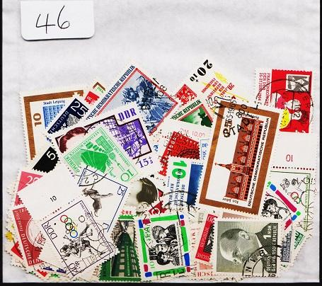 Germany(DDR). Mixture. 100 stamps. May be duplication. Used(Mainly CTO)