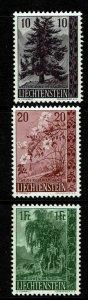 Liechtenstein SC# 312-314, Mint Never Hinged - S13028