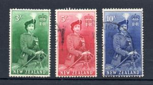New Zealand - SG# 734 - 736 Used  /  Lot 1217091