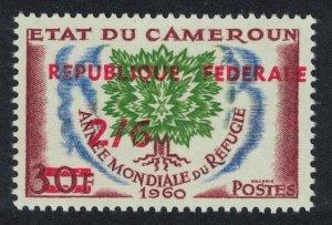 Cameroun Overprint 2Sh 6d Type 2 SG#294a