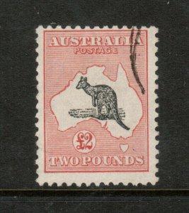 Australia #129 Used Fine With Light Cancel