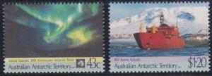 Australian Antarctic Territory L81-L82 MNH (1991)