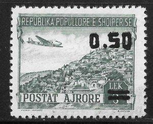 Albania (1952) - Scott # C61,   MH