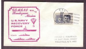 Gemini Recovery Ship: GTA-11, U.S.S. Guam