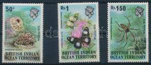British Indian Ocean Territory stamp Animal World set 1973 MNH Mi 54-56 WS210350
