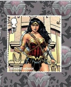 2021 SG: TBC - WONDER WOMAN  - DC COLLECTION - S/A - UNMOUNTED MINT