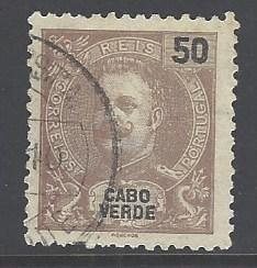 Cape Verde Sc # 45 used (RS)