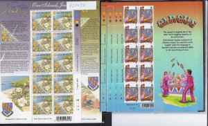 Guernsey 1999 Europa Parks & Gardens Herm set in unmounted mint sheetlets of 10,
