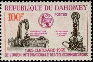 Dahomey Scott 202 Mint never hinged.