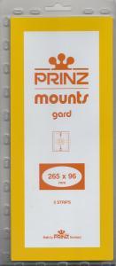 PRINZ BLACK MOUNTS 265X96 (5) RETAIL PRICE $11.50