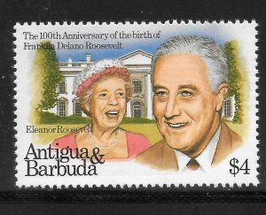 Antigua Mint Never Hinged [8236]
