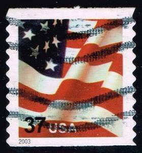 US #3632A Flag; used (0.25)