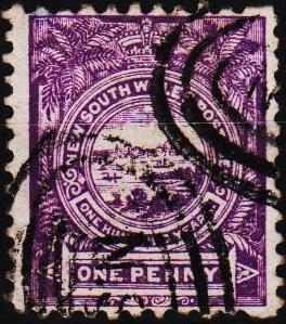 New South Wales. 1888 1d S.G.253 Fine Used
