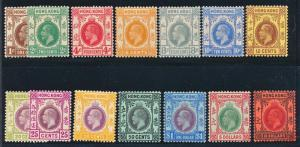 HONG KONG 109-124 MINT LH, KGV (needs 121-22) Has Top Values