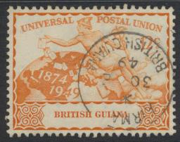 British Guiana SG 326 Used  (Sc# 248 see details)  UPU Issue