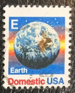 US #2279 Used F/VF - Earth E-Make up Stamp
