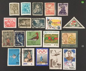 Poland Used #031421, 20 All Different.