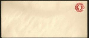 USA U429 Washington 2Cent Red #10 Envelope Unused Cover