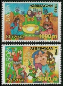 Azerbaijan #682-3 MNH Set - 1998 Europa