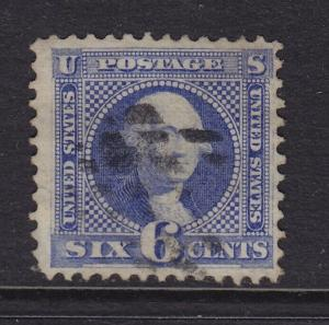 115 VF used nice margins neat light cancel with nice color ! see pic !
