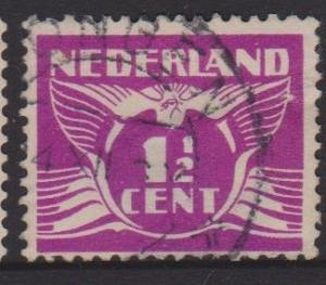 Netherlands Sc#166 Used Thin