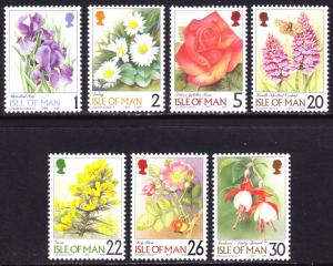 Isle of Man Scott 794-796, 798-801  F to VF mint OG NH.